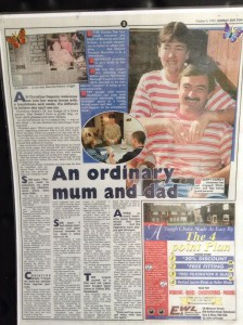 """Article from the """"Sunday Sun October 5th, 1997""""."""