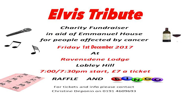 elvis tribute charity fundraiser